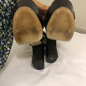 62773b71c91 Michael Kors Shoes - Tara Floral Embellished Leather Platform Sandal